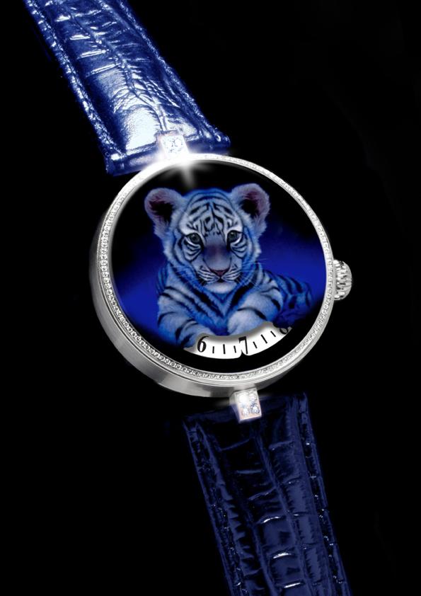 Angular Momentum Baby Tiger